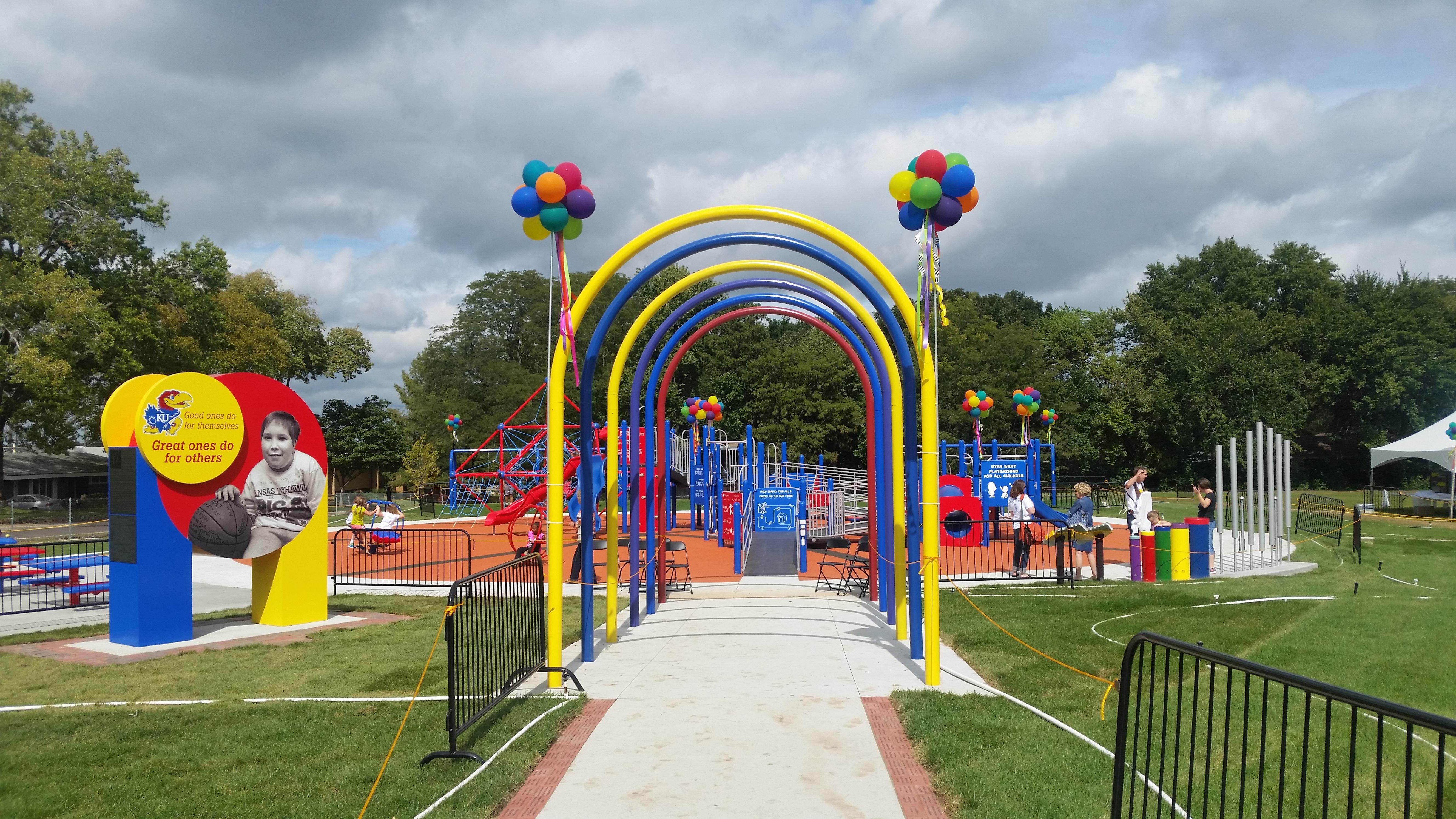 Ryan Gray Playground Entrance