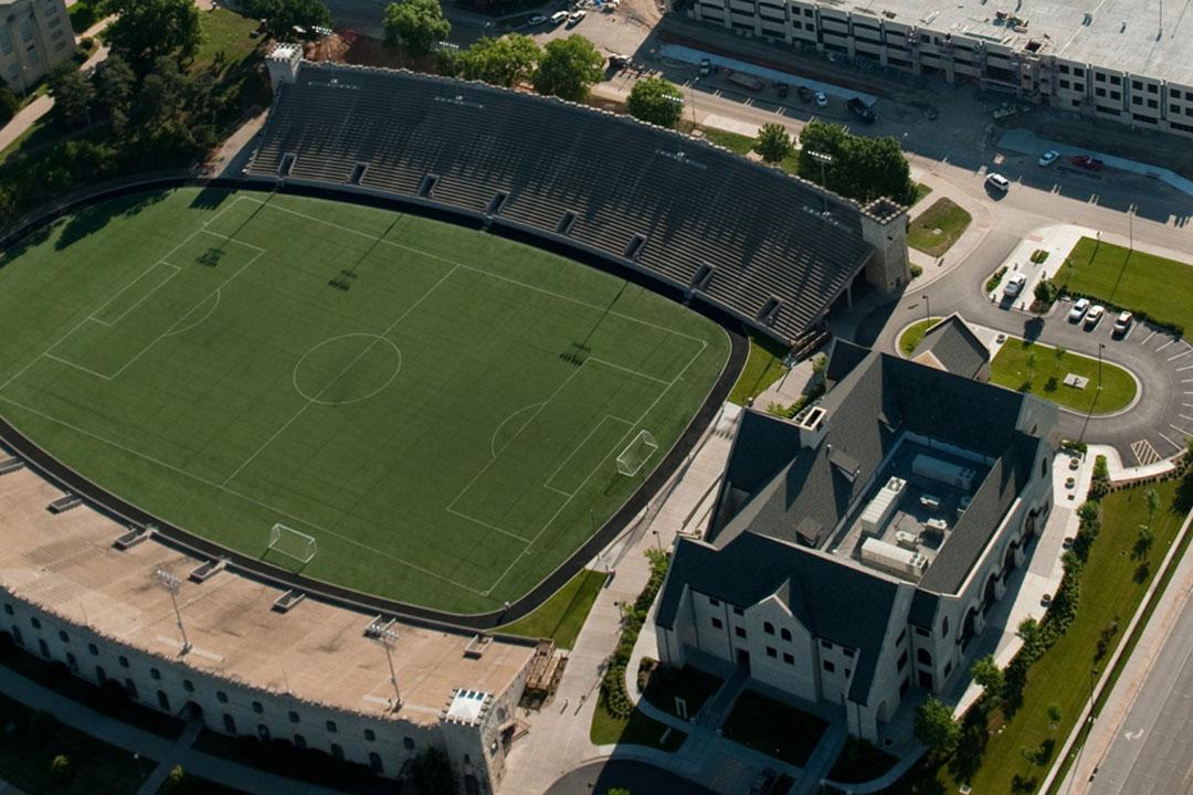 Kansas State University's Memorial Stadium