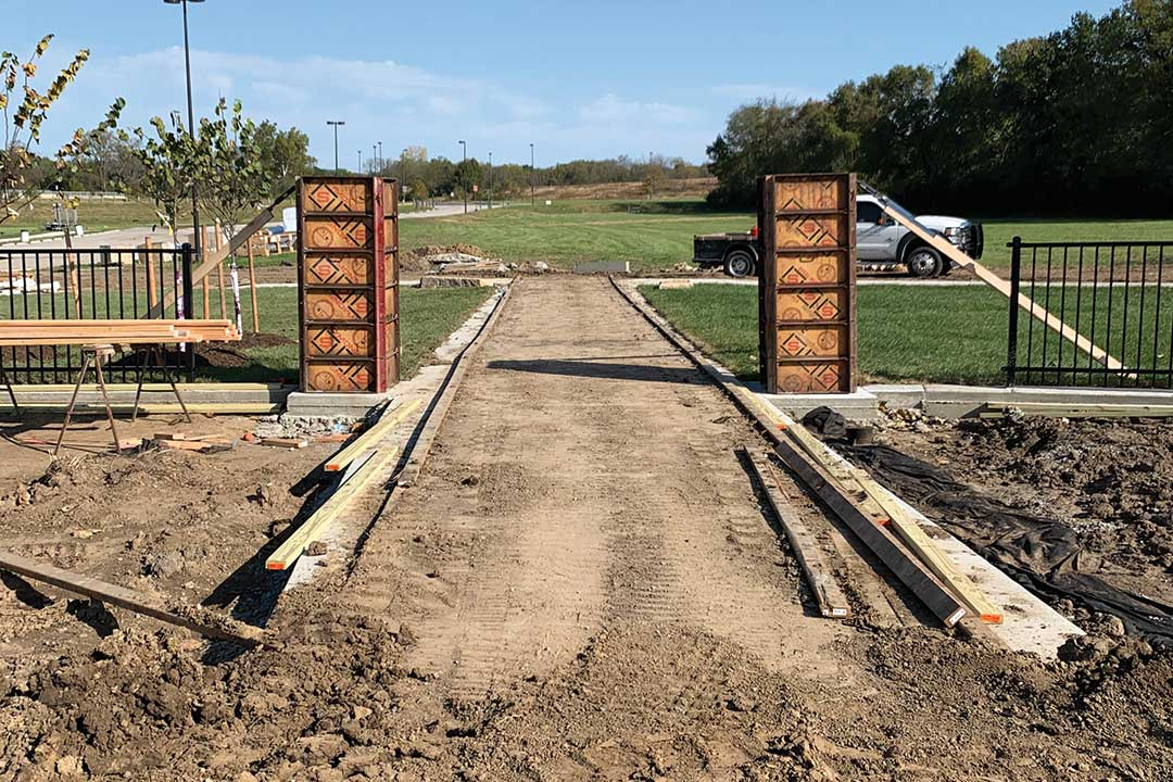 Playground Construction Site Access