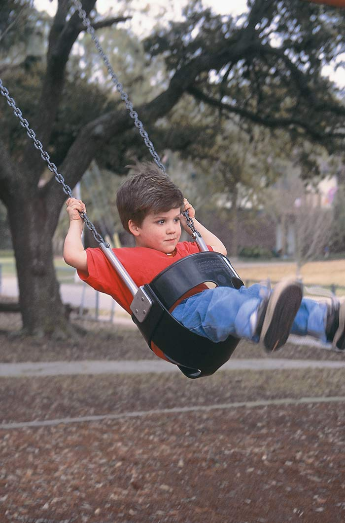 Swings Stimulate Both Bodies and Brains