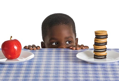 Children need to make good nutrition choices