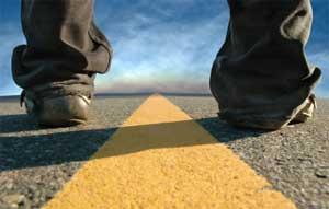 The path ahead.