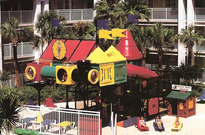 Hotel playgorund