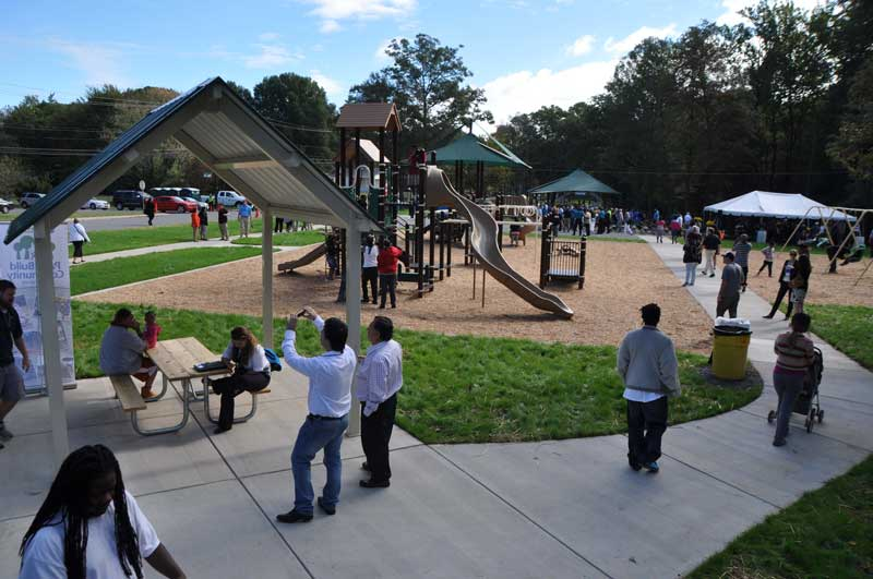 Lincoln Heights Park in Charlotte, NC