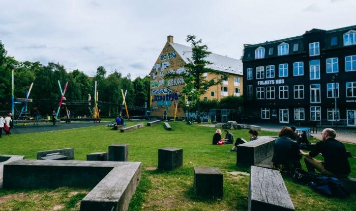 Folkets park in Copenhagen