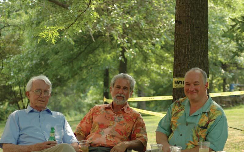 Paul Hogan, Rolf Huber, and Paul Bamburak