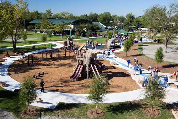 Shady Lane Park in Houston, TX