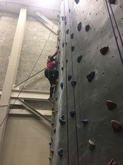 Indoor Climbing Gym