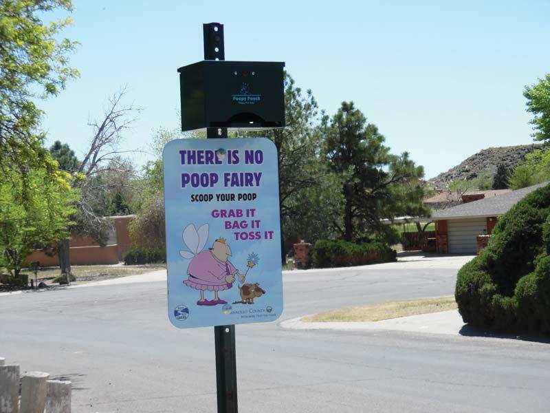Pick up pet waste