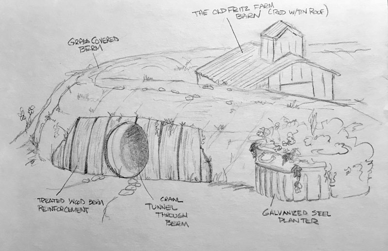 Farm themed playground concept drawings