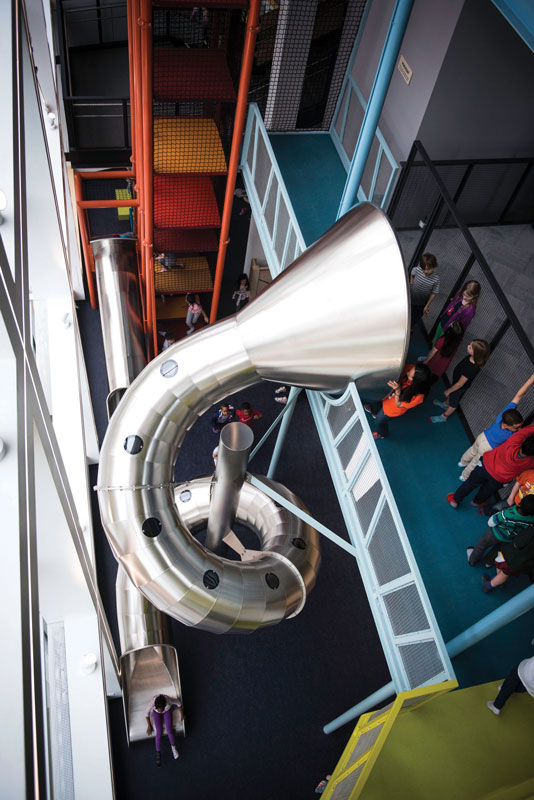 The Scramble 17-foot Slide