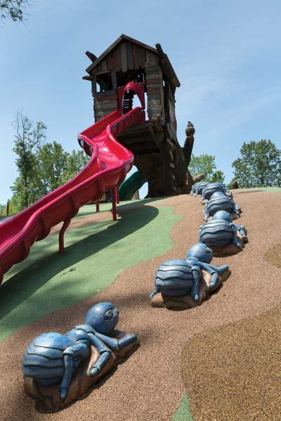 Walker Mill Regional Park Hillside Slide