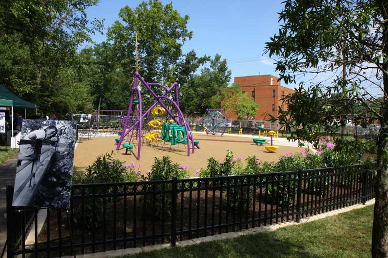 Marvin Gaye Park in Washington, D.C.