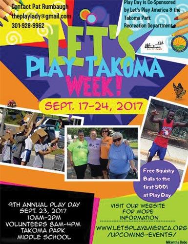 Let's Play Takoma Week