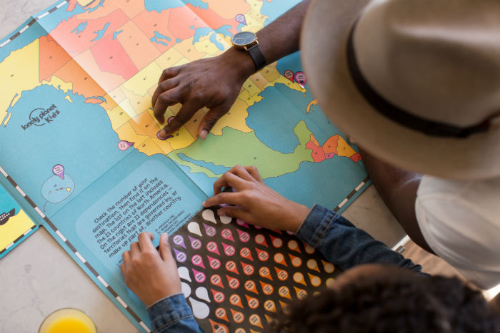 Lonely Planet map game
