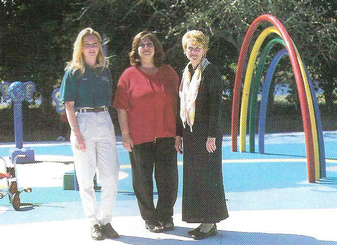 Spray Pads: Rainbows and Kids Toes