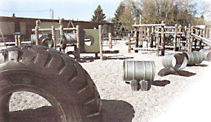 Outdated Homemade Playgrounds