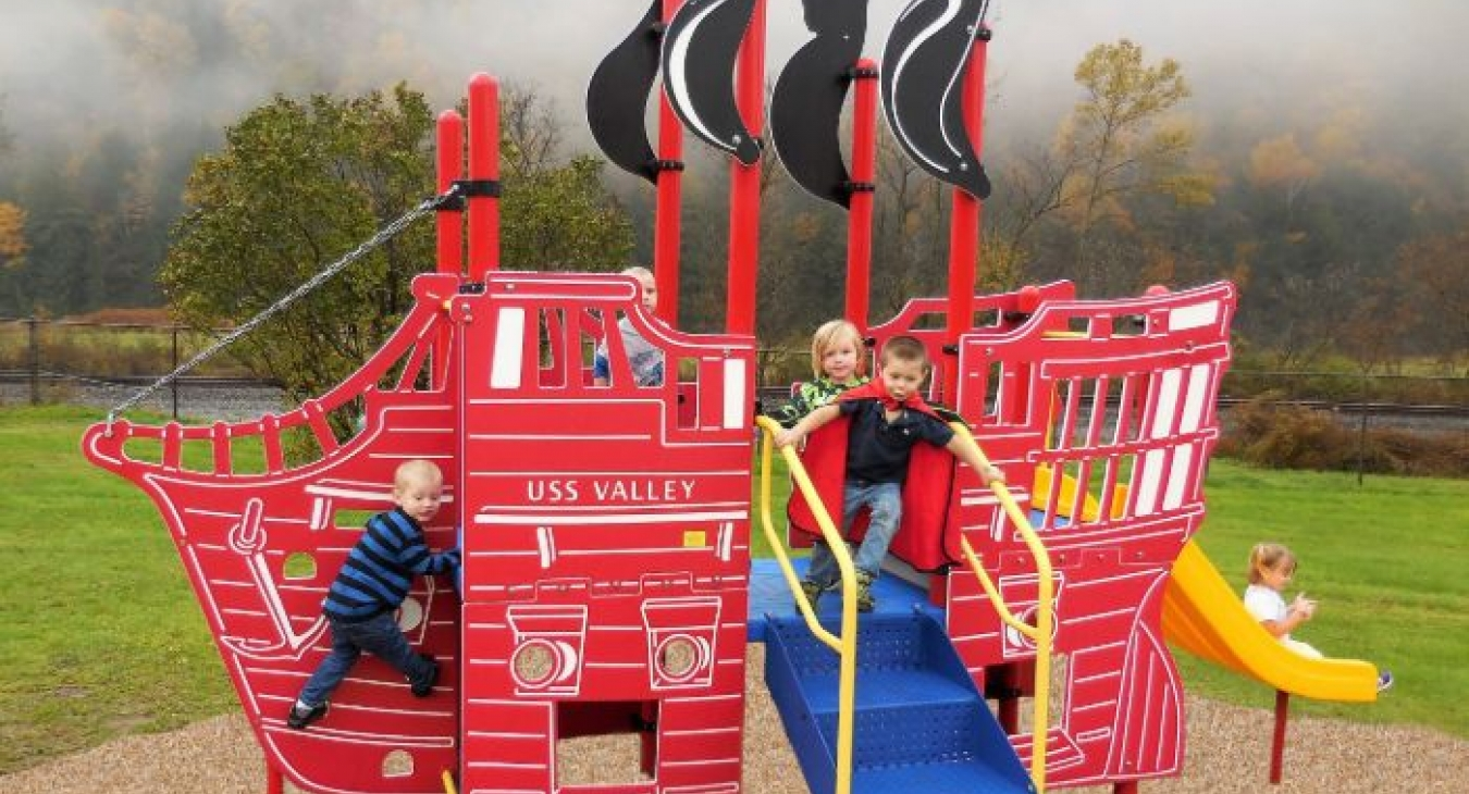 Pirate Ship Playstructure