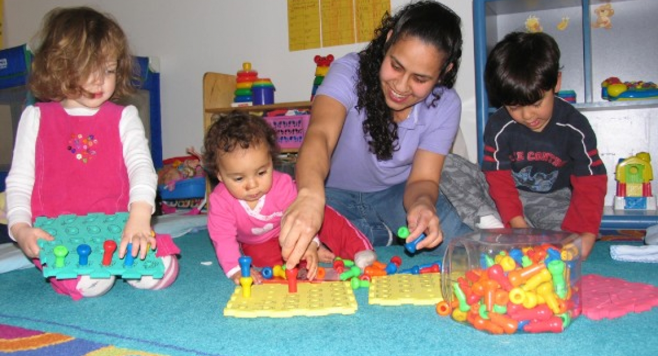 Early child educator loves her job