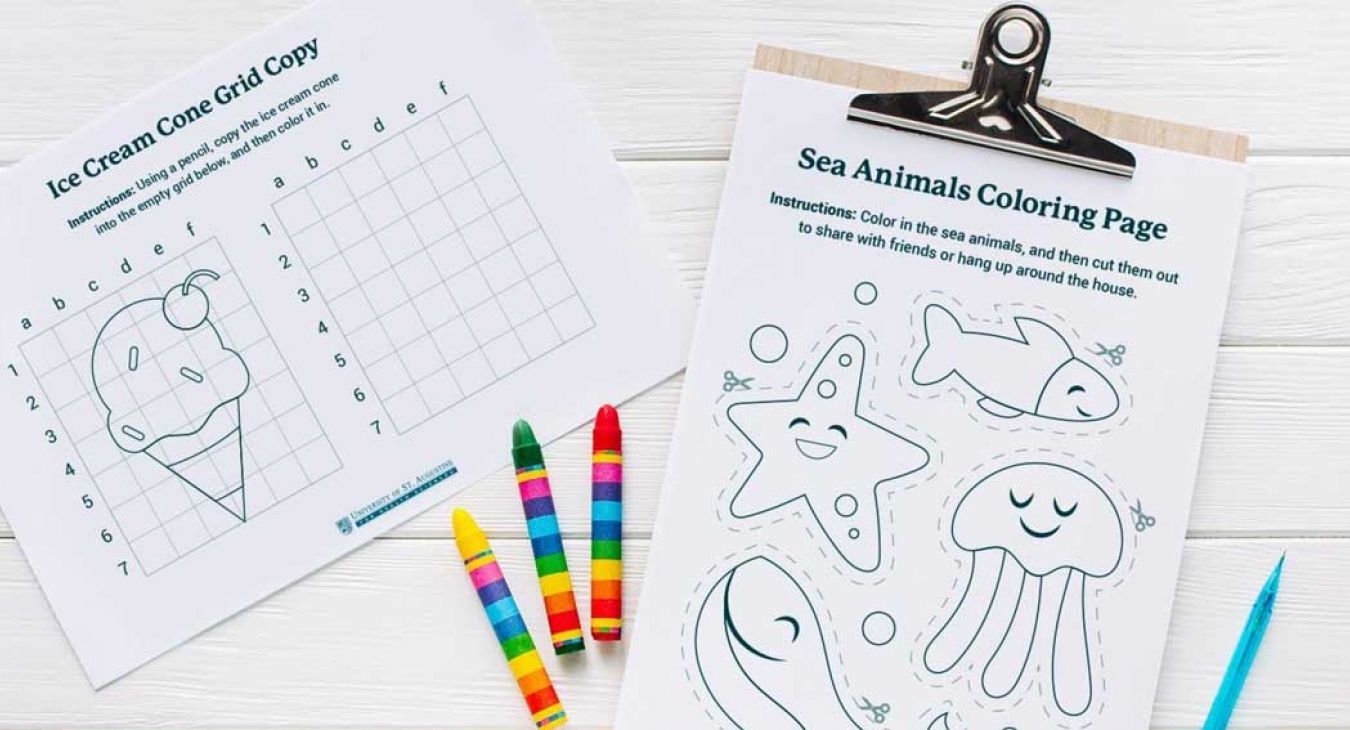 Improving Fine Motor Skills with Printables