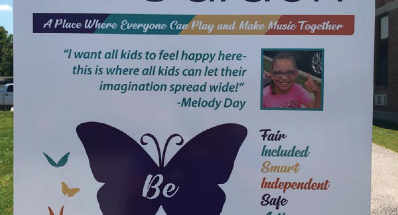 Melody Day Receives Youth  Champion 4 Inclusion Award