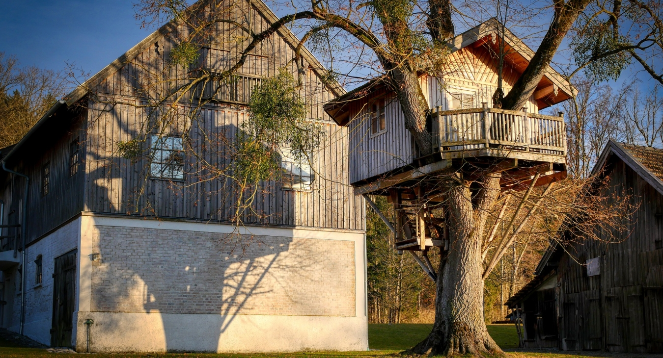 How to Build and Decorate a Treehouse