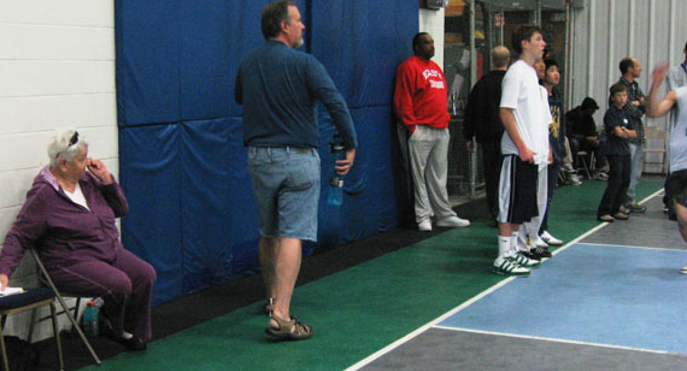 Basketball Buffer Zones - courtesy of Todd L. Seidler