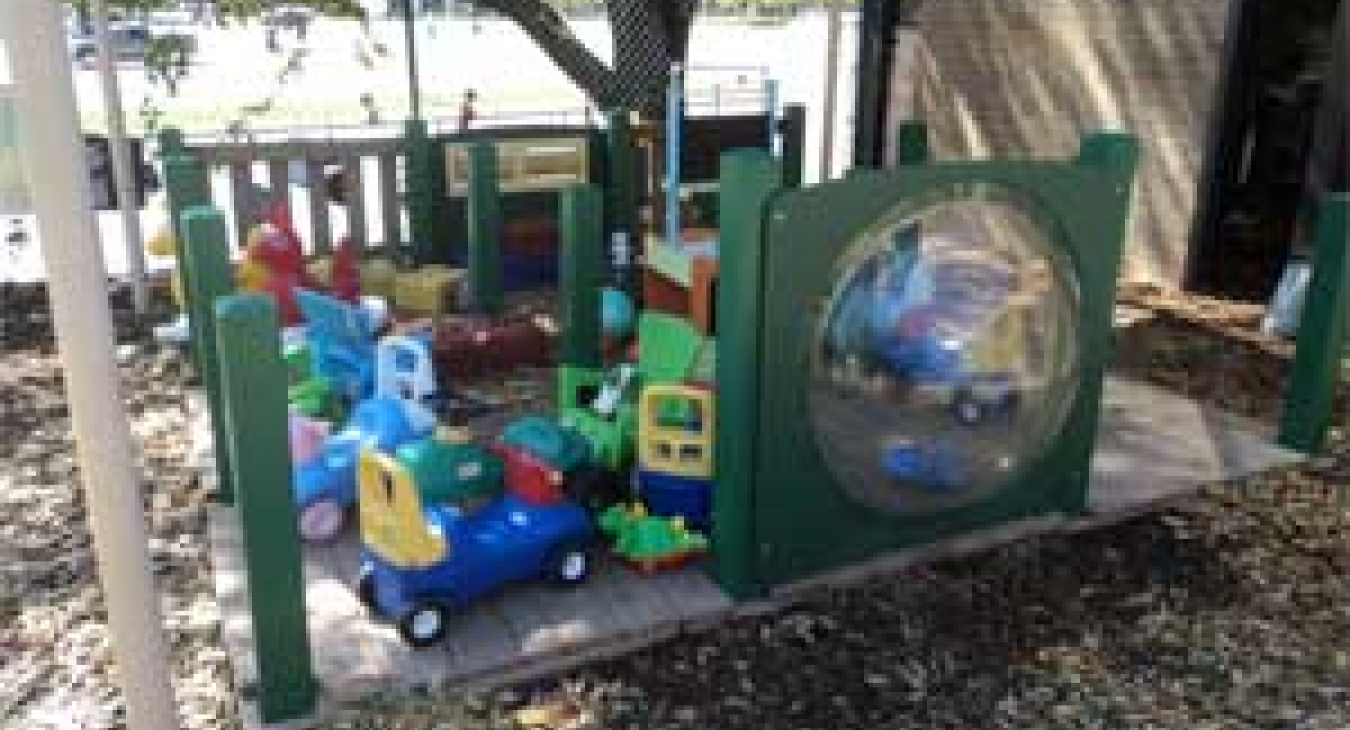 Toddler play area - courtesy of PlaySafe LLC