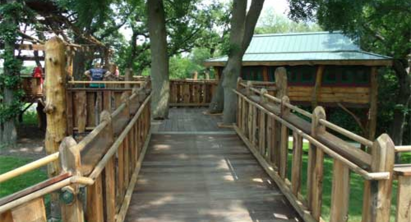 The Pepper Family Accessible tree-house