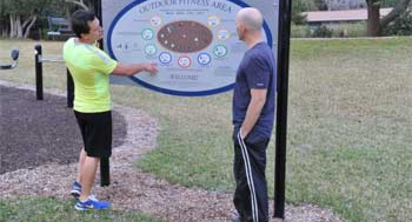 Health Happens Outdoor Fitness and Walking Trail - Ocala Florida