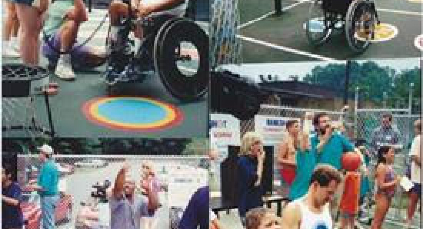 Sports Courts for the Differently-able