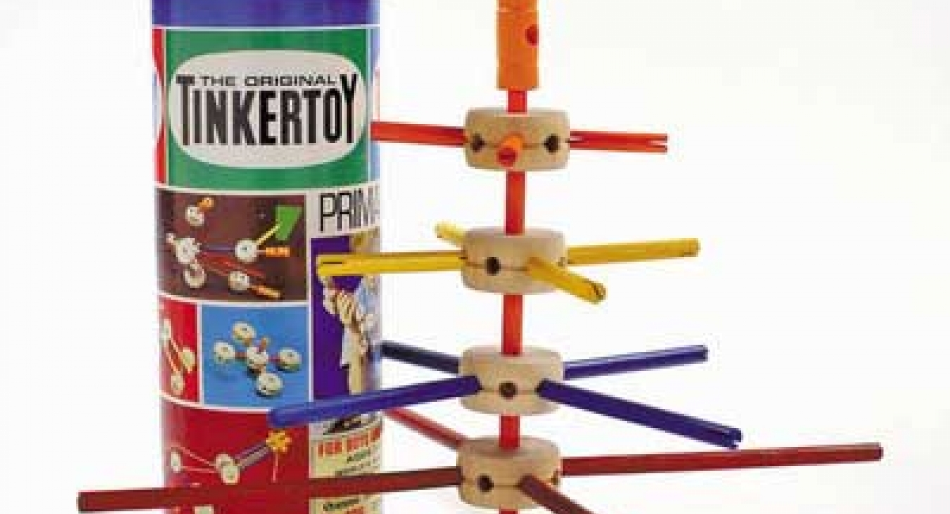 Tinkertoys: A toy for the ages