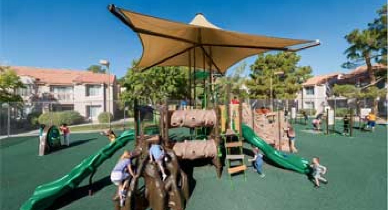 Safe playgrounds in multi-family communities - Playworld Systems